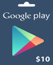 10 Google Play Gift Card