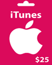 iTunes $25 Gift Card Codes Generator